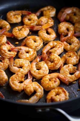 Easy Chili Spiced Shrimp