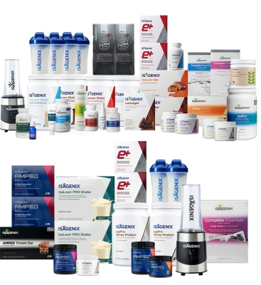 Isagenix Product Line